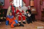Paczkowskie dzieci uwolniły Mikołaja z rąk okrutnej Królowej Lodu! Foto: Lesław Cudyk