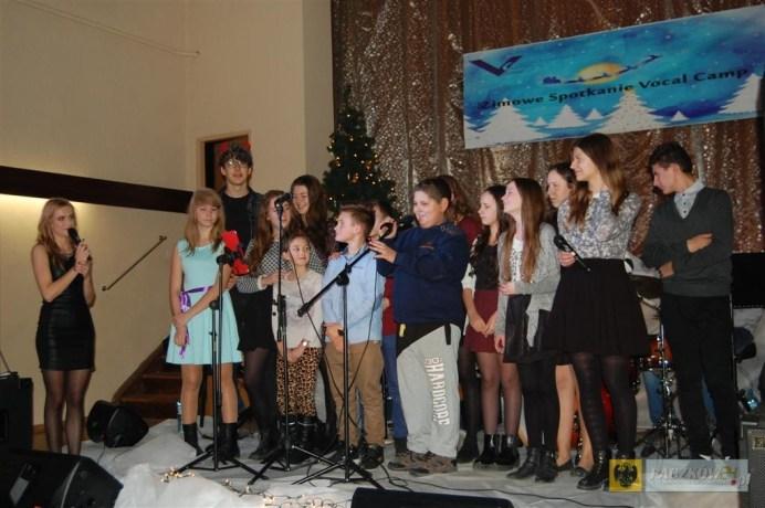 Uczestnicy zimowego Vocal Camp w Paczkowie. Foto: OKiR
