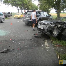 19 lipca | Karambol na DK46 | Zderzyło się 6 aut. Sześć samochodów zderzyło się na trasie Stary Paczków – Ścibórz. | http://paczkow24.pl/karambol-na-dk46-zderzylo-sie-6-aut/