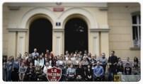 7 października | 70-lat paczkowskiego liceum | Wystawa tableau na paczkowskim Rynku otworzyła obchody 70-lecia istnienia Liceum Ogólnokształcącego. | Foto: ZS Paczków | http://paczkow24.pl/niezwykla-wystawa-otworzy-obchody-70-lecia/