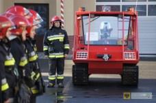 10 grudnia | Paczkowscy strażacy dostali amfibię | Paczkowska JRG otrzymała jedną z 32 amfibii zakupionych dla jednostek straży pożarnej z całego kraju. | Foto: KP PSP Nysa | http://paczkow24.pl/paczkowscy-strazacy-dostali-amfibie/