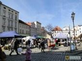 Jarmark wielkanocny na paczkowskim Rynku