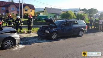 Jedna osoba ranna w wypadku w Kamienicy