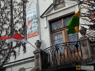 Flaga Monako załopotała nad Paczkowem