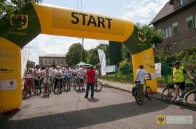 """Za nami kolejny rajd rowerowy """"Błękitna wstęga"""". Foto: Lesław Cudyk"""