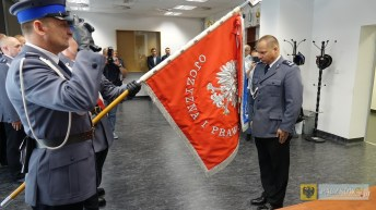 Dariusz Dregan nowym Komendatem Powiatowym. Foto: UM Nysa; nysa.eu