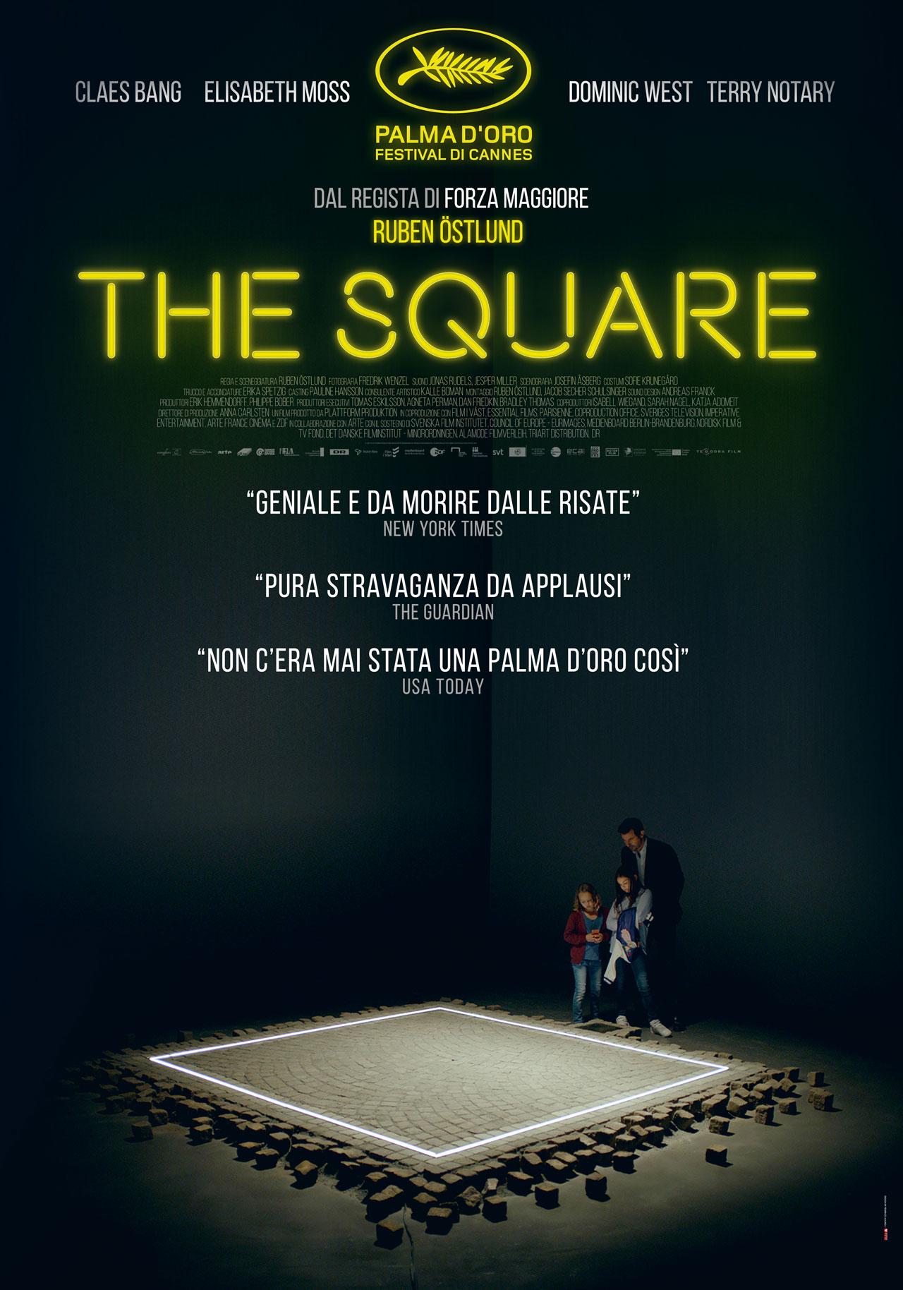 The Square Trailer E Poster Del Film Vincitore Di Cannes