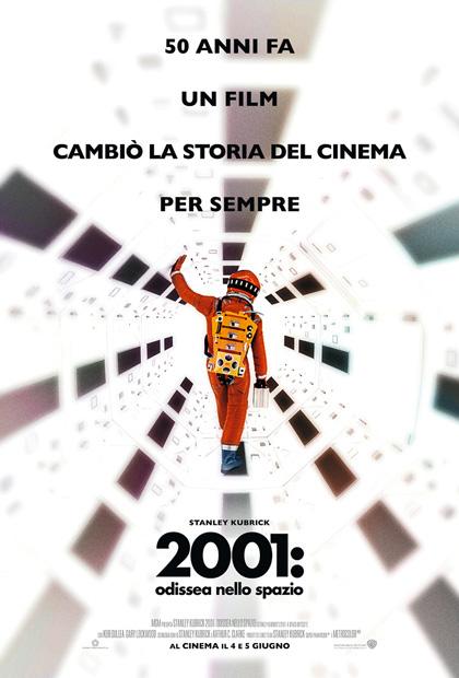 Locandina italiana 2001: Odissea nello spazio