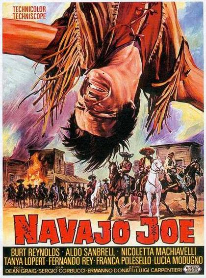 Locandina Navajo Joe