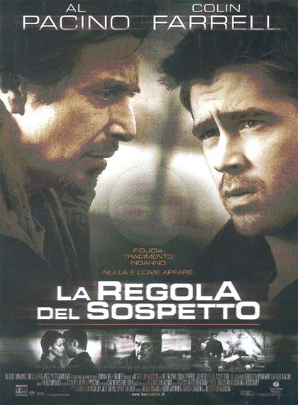 Locandina italiana La regola del sospetto