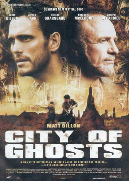 Locandina italiana City of Ghosts