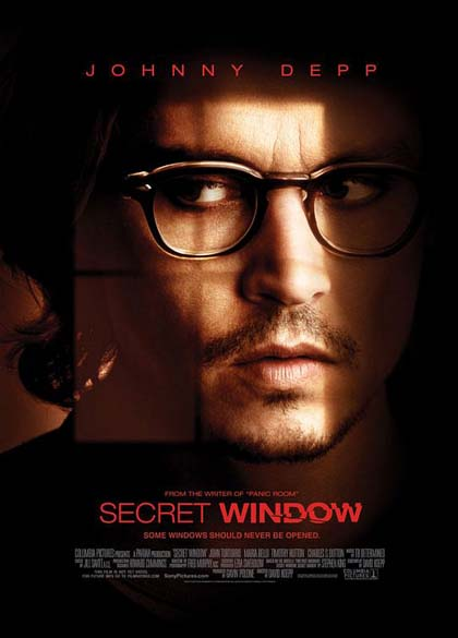 Locandina italiana Secret Window