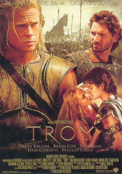 Locandina italiana Troy