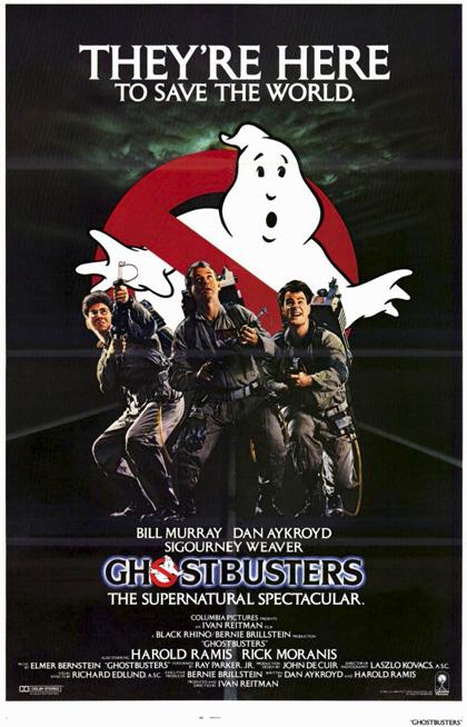 Poster Ghostbusters - Acchiappafantasmi