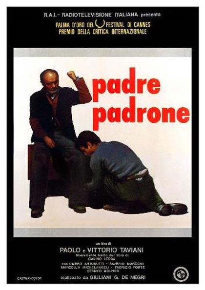 Locandina italiana Padre padrone
