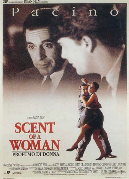 Locandina italiana Scent of a Woman - Profumo di donna