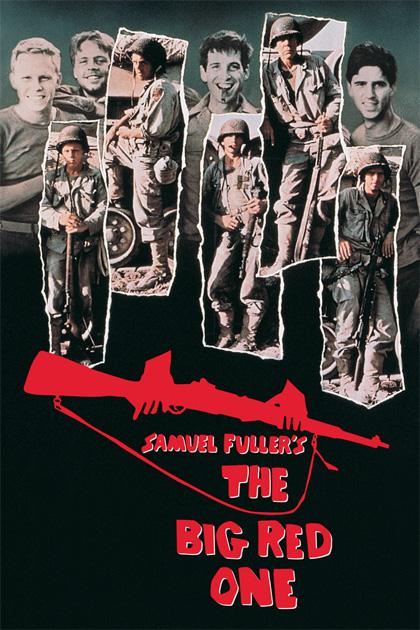 Poster Il grande uno rosso