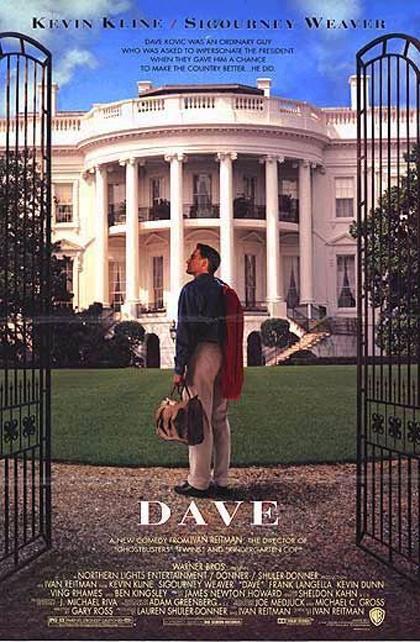 Locandina italiana Dave - Presidente per un giorno
