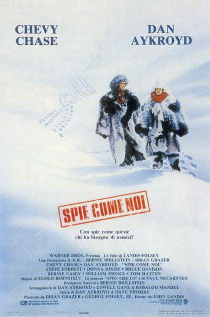 Locandina italiana Spie come noi