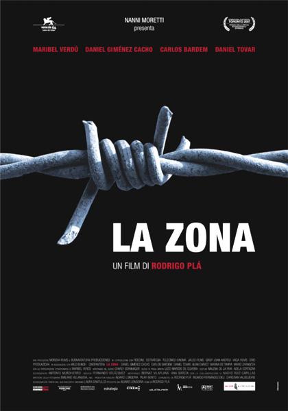 Locandina italiana La zona