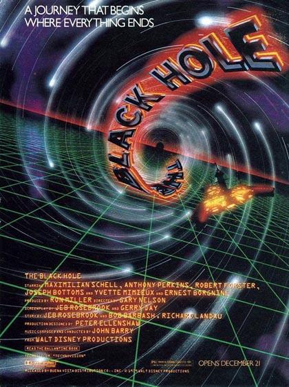Locandina italiana The Black Hole (Il buco nero)