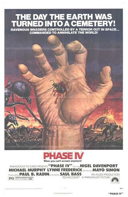 Locandina Fase IV: distruzione Terra