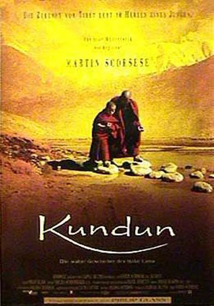 Locandina italiana Kundun