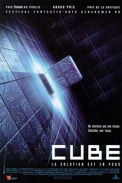 Locandina italiana Cube - Il cubo