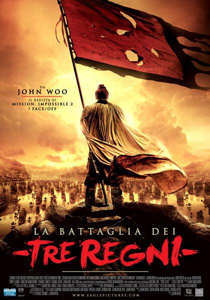 Locandina italiana La battaglia dei tre regni