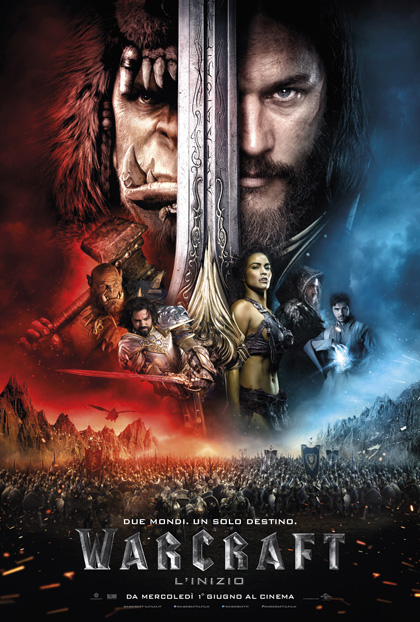 Locandina italiana Warcraft - L'inizio