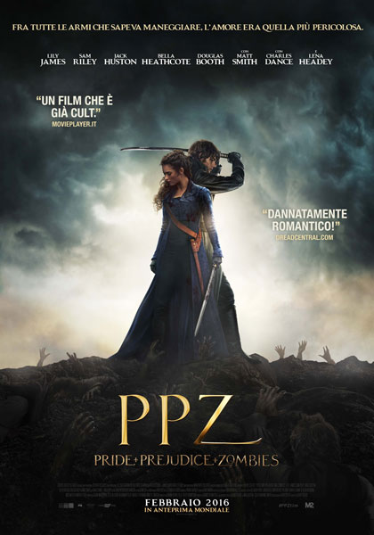 Locandina italiana Ppz - Pride and Prejudice and Zombies