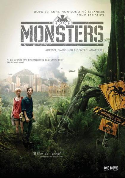 Locandina italiana Monsters