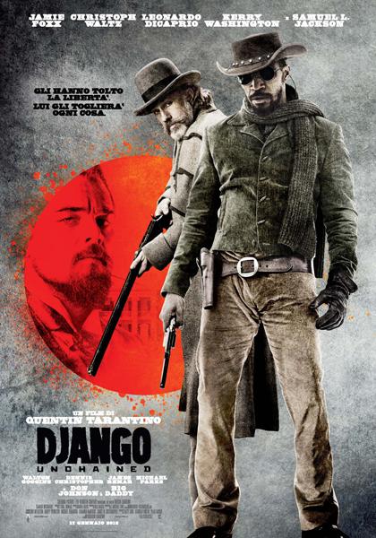 Locandina italiana Django Unchained