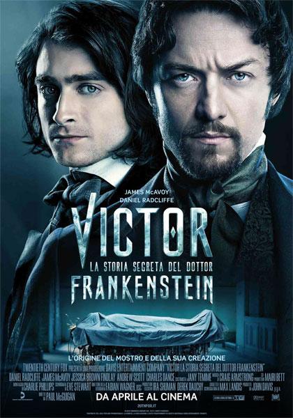 Locandina italiana Victor - La storia segreta del Dottor Frankenstein
