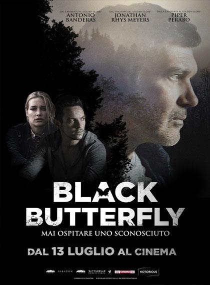 Locandina italiana Black Butterfly
