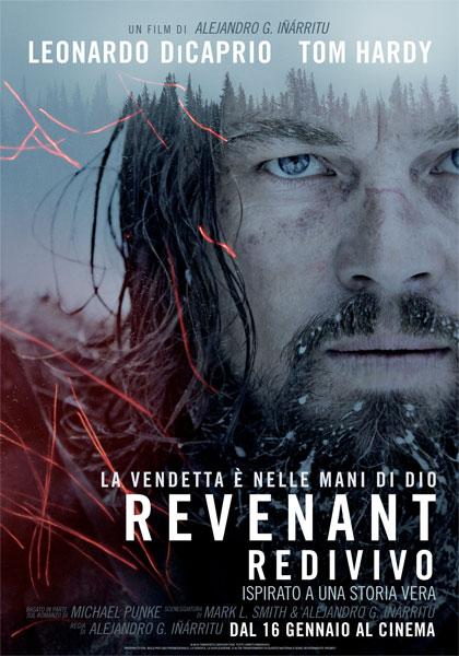 Locandina italiana Revenant - Redivivo