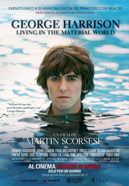 Locandina George Harrison: Living in the Material World