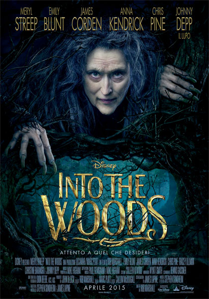 Locandina Into the Woods