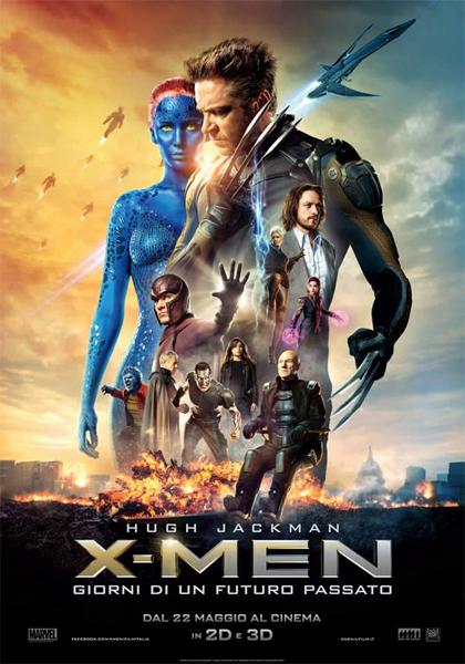 Locandina italiana X-Men - Giorni di un futuro passato