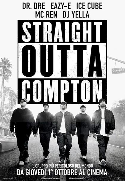 Locandina italiana Straight Outta Compton