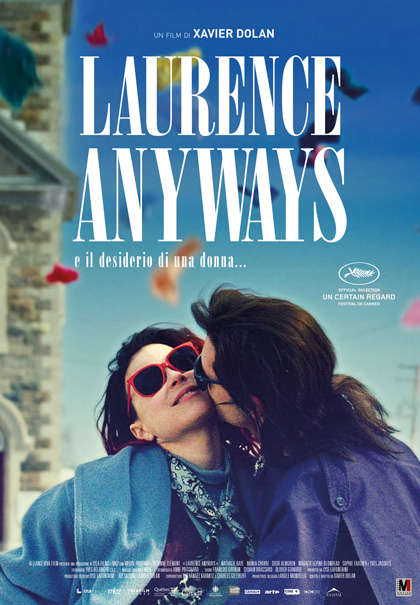 Locandina italiana Laurence Anyways
