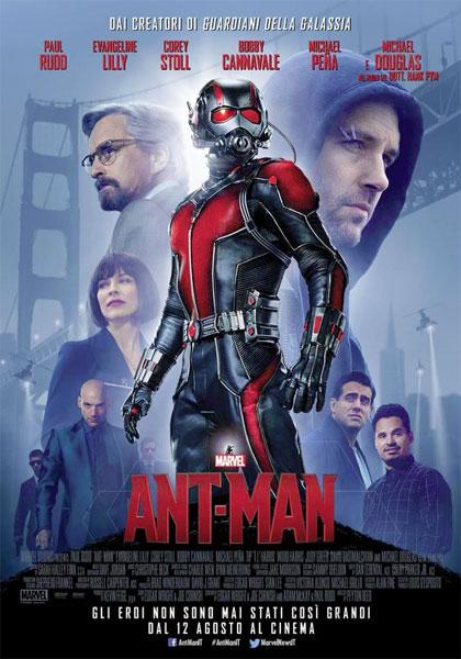 Locandina italiana Ant-Man