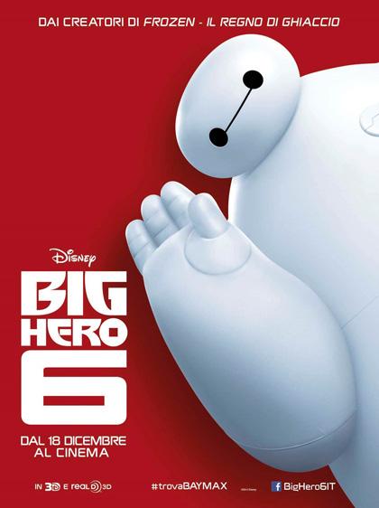 Locandina Big Hero 6
