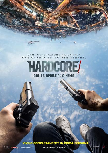 Locandina italiana Hardcore!