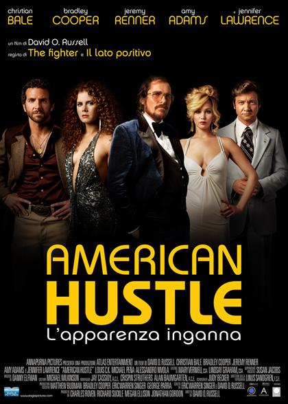 Locandina italiana American Hustle - L'apparenza inganna