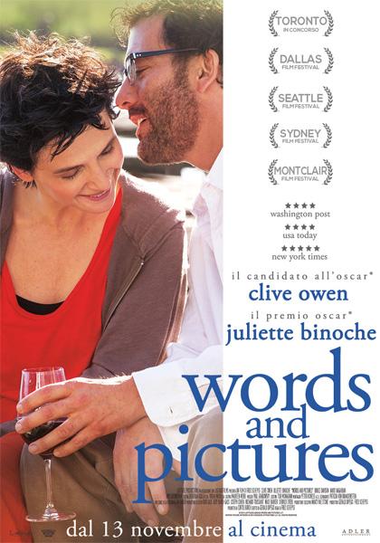 Locandina italiana Words and Pictures