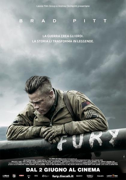 Locandina italiana Fury