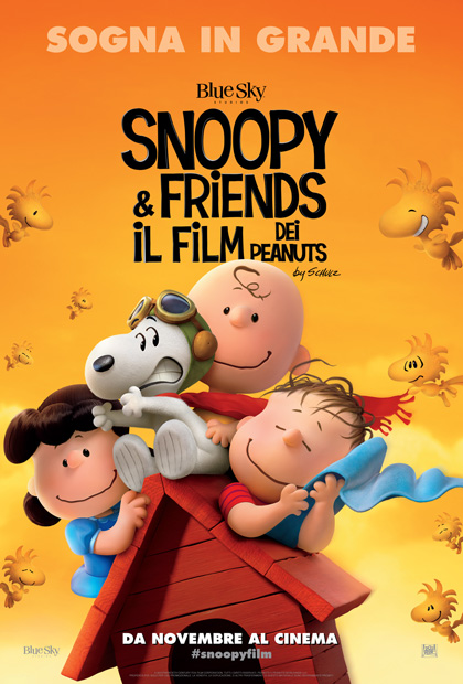 Locandina italiana Snoopy & Friends – Il film dei Peanuts