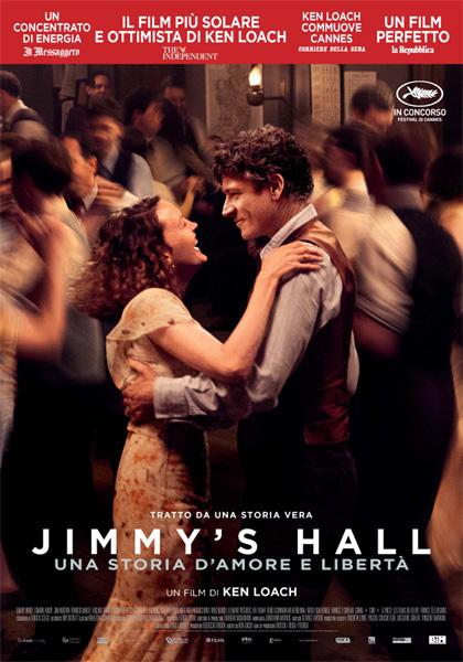 Locandina italiana Jimmy's Hall - Una storia d'amore e libertà
