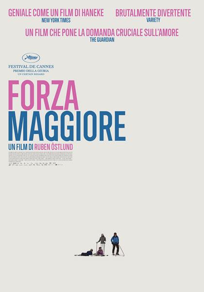 Locandina italiana Forza maggiore